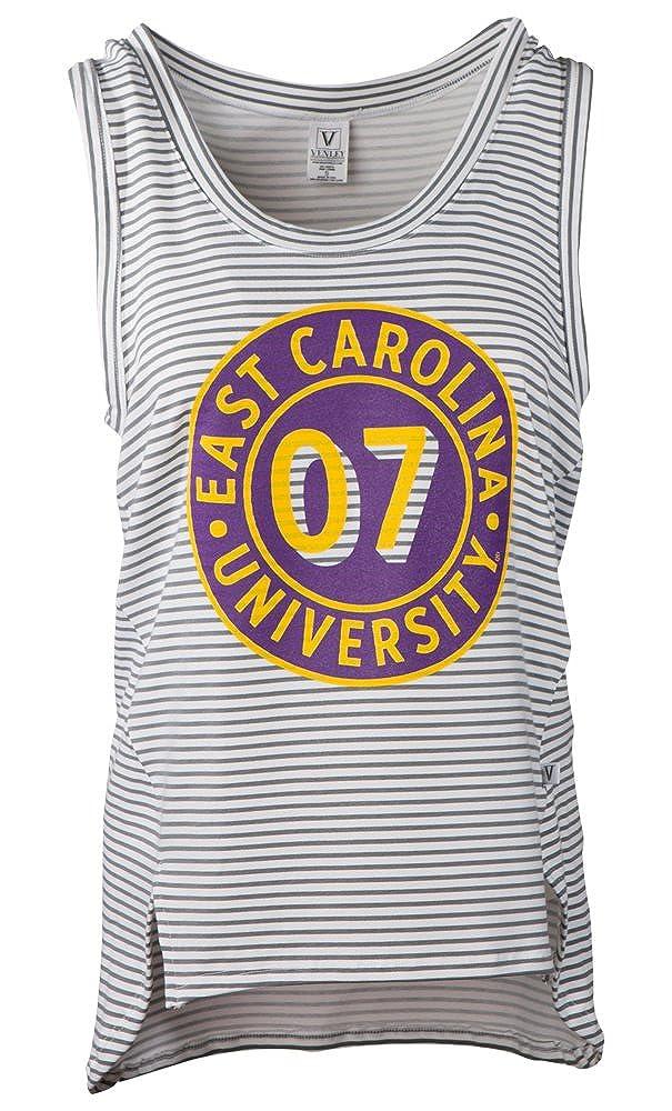 Venley NCAA Womens Striped Tank Top
