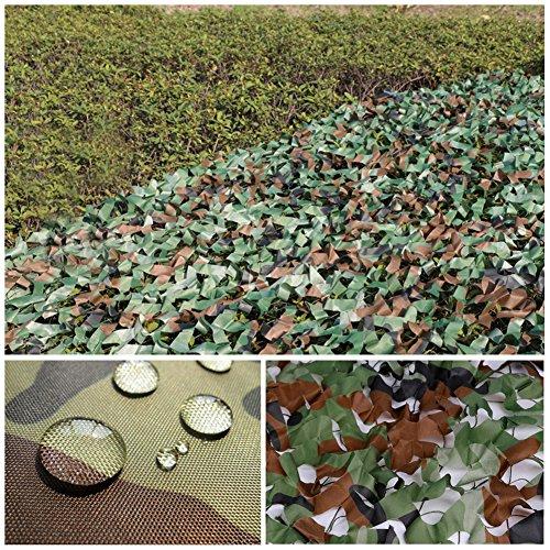 2 X 3m Woodland Filets de Camouflage Militaire Tactique Pour Camping Chasse Tournage Vert 4