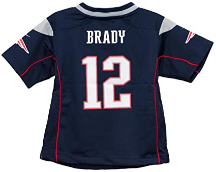 d8f69e3b1 Image Unavailable. Image not available for. Color  Tom Brady New England  Patriots Toddler Nike Game Jersey ...