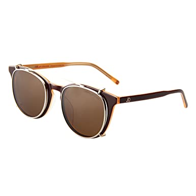 394b3f5ebf JO Polarized Sunglasses Clip for Man Women with Optical Glasses JO5115 Brown