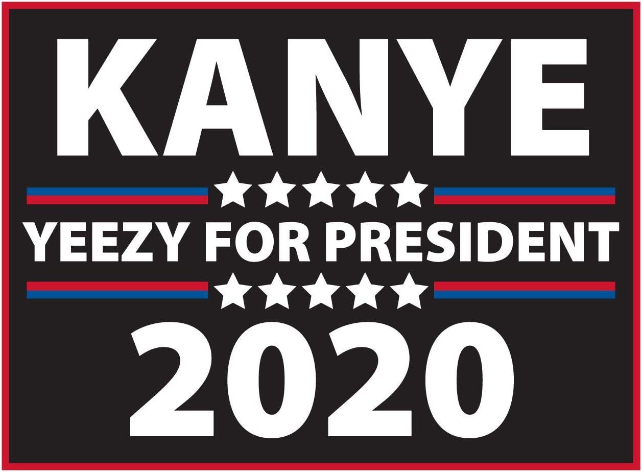 Amazon.com : Pro-Tuff Decals Kanye 2020