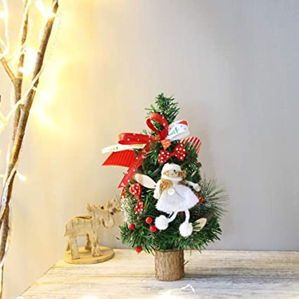 home decorpandaie christmas decorations clearance 25cm christmas table decoration mini christmas tree party decoration - Half Price Christmas Decorations Clearance