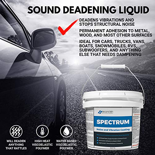 Second Skin Audio Spectrum Liquid Sound Deadening Spray and