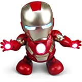 Robot Toy for Children Robot Dancing Robot Toy with Lights and Music, Dancing-Battery Powered, Suitable for Boys and…