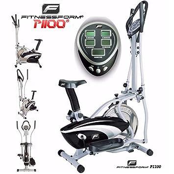 Fitnessform® P1100 Cross Trainer 2-en-1 Fitness bicicleta elíptica (modelo nuevo