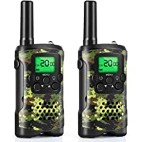 Walkie Talkies for Kids, Toys for 3-12 Year Old Boys 22 Channel 3 Mile Long Range Kids Toys and Kids Walkie Talkies, and Top Toys for for 3 4 5 6 7 8 9 Year Old Boy and Girls