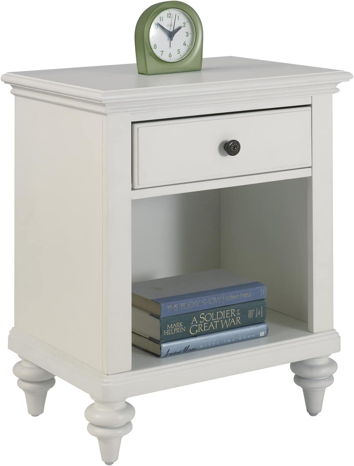 Bermuda White Night Stand by Home Styles