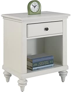 Charmant Home Styles Bermuda Night Stand, White Finish