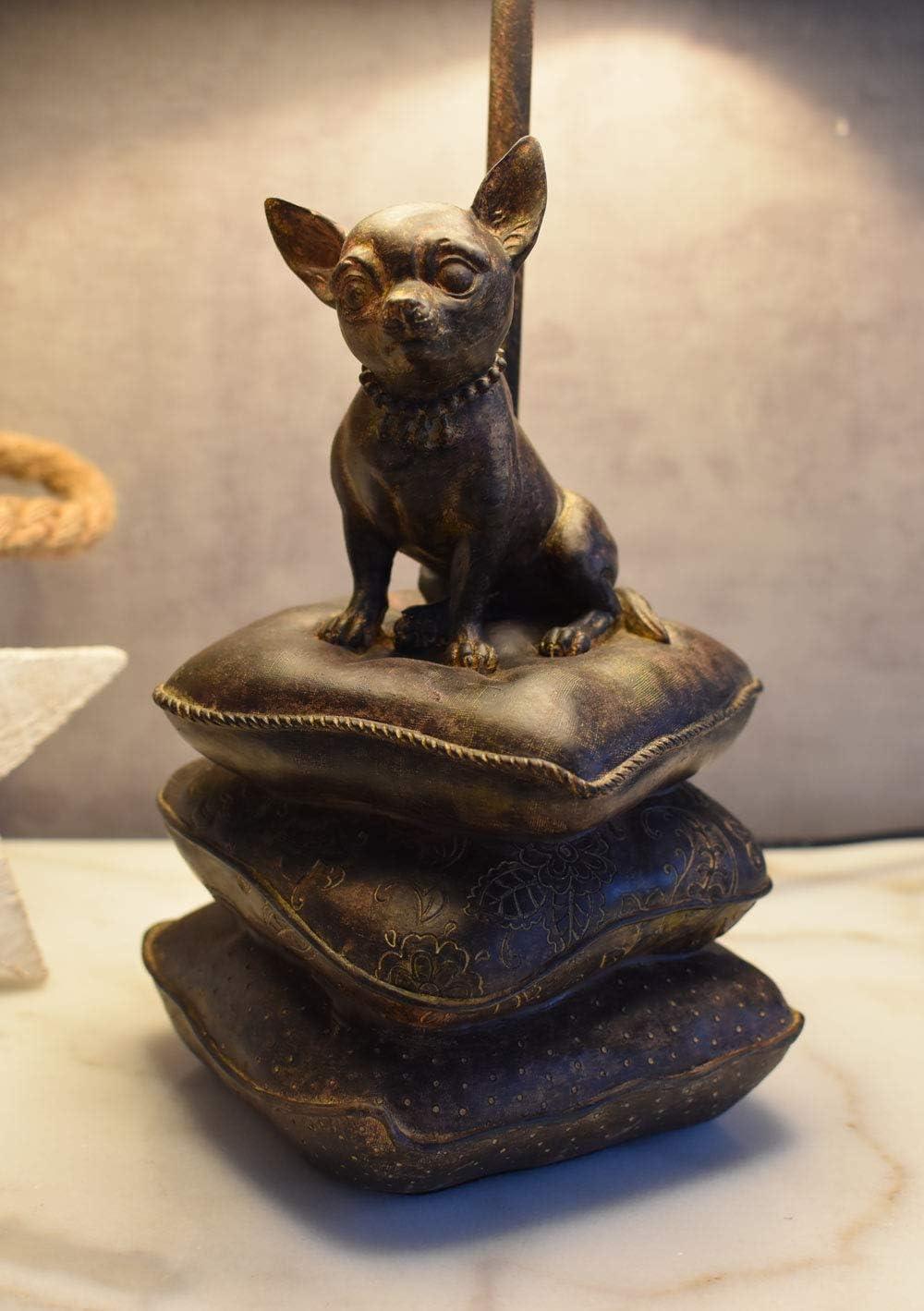 Tischlampe Chiwawa Hundelampe Tischleuchte Chihuahua Nachttischlampe Leuchte