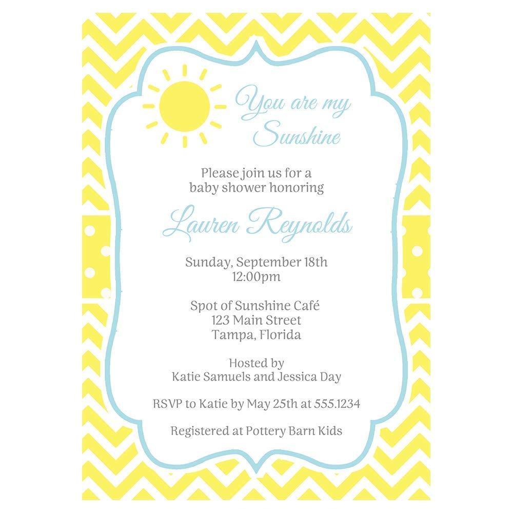 BOYS BLUE BIRTHDAY PARTY INVITATIONS KIDS CHILDRENS INVITES UNISEX