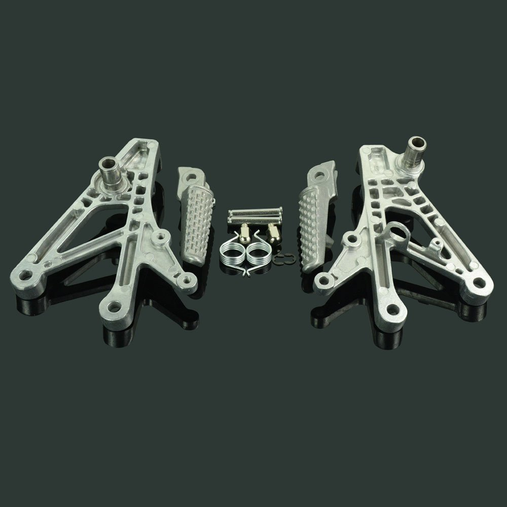 Fast Pro Juego de Soportes para reposapi/és Delanteros para Honda CBR600 F4 CBR600F4I 600F4I 600F 4I