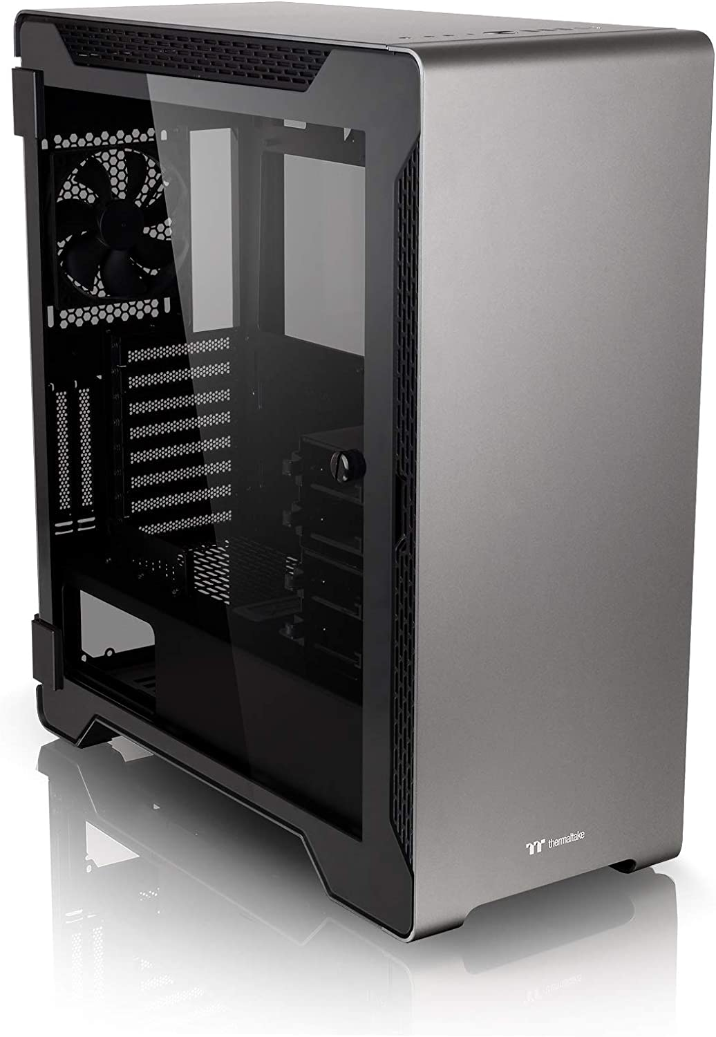 Black Thermaltake CA-1L3-00M9WN-00 A500 TG Space Gray PC-Case//Chassis//Gaming Case