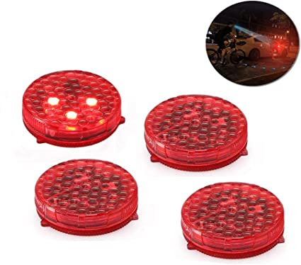 Youngine Spia Per Auto Universale 4 Spie Spia Anti Collisione Luci Di Sicurezza A Led Strobe Lampeggiante Apribile A Riflettore Lampada Auto On Off Con 3 Modalita Di Lampeggio Amazon It Auto E Moto