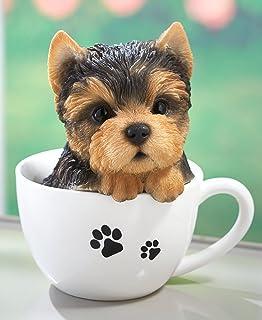 Amazon Com The Lakeside Collection Teacup Pups Golden Retriever