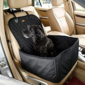 2 In 1 Thick Pet Car Booster Seat Waterproof Dog Single Front For Vehicle Supplies