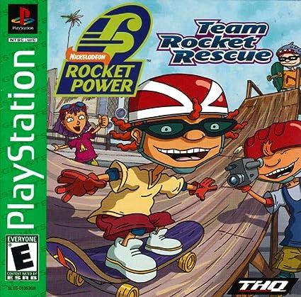 Amazon com : Rocket Power - Team Rocket Rescue PS1