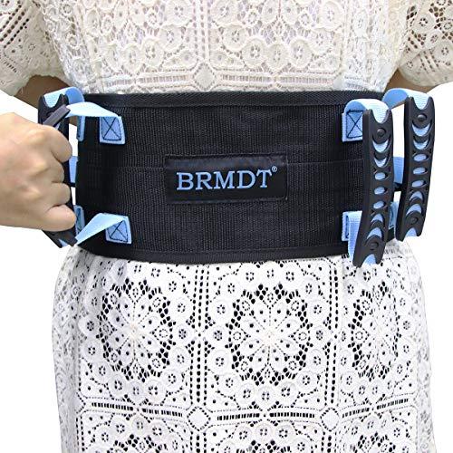 Gait Belts Transfer Belts by BRMDT - Transfer Belt with Handles - Medical Nursing Safety Gait Patient Assist - Lift Gait Belt with One-Click Quick Release Locking Buckle Safety Gate Belt 48