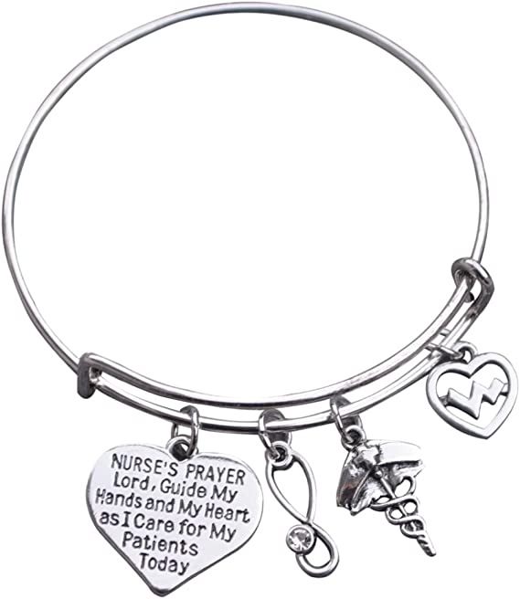 Infinity Collection Nursing Charm Bracelet