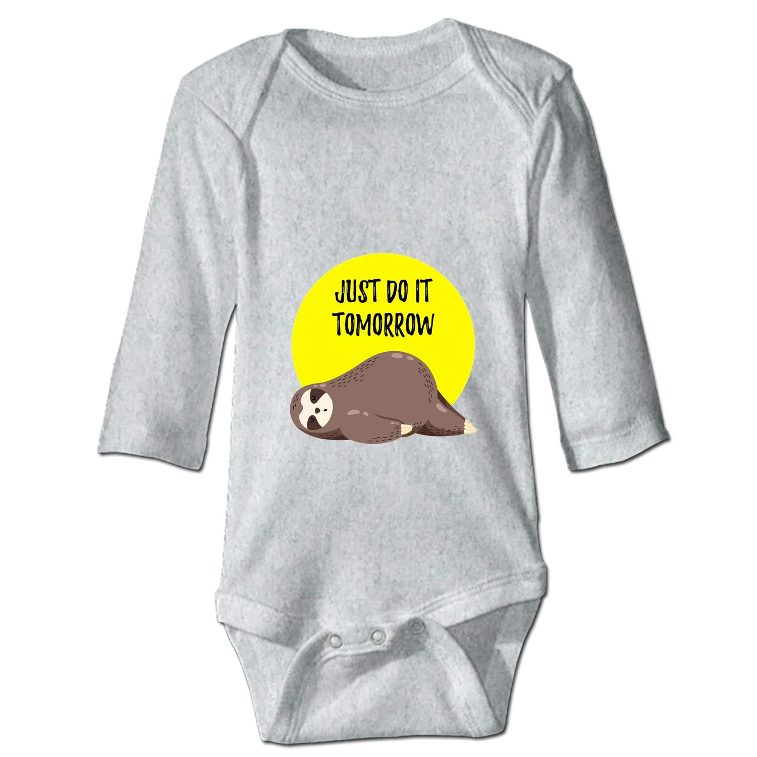 BABBY Keep Calm Sloth Printed Personalized Infant Bodysuit One-Piece