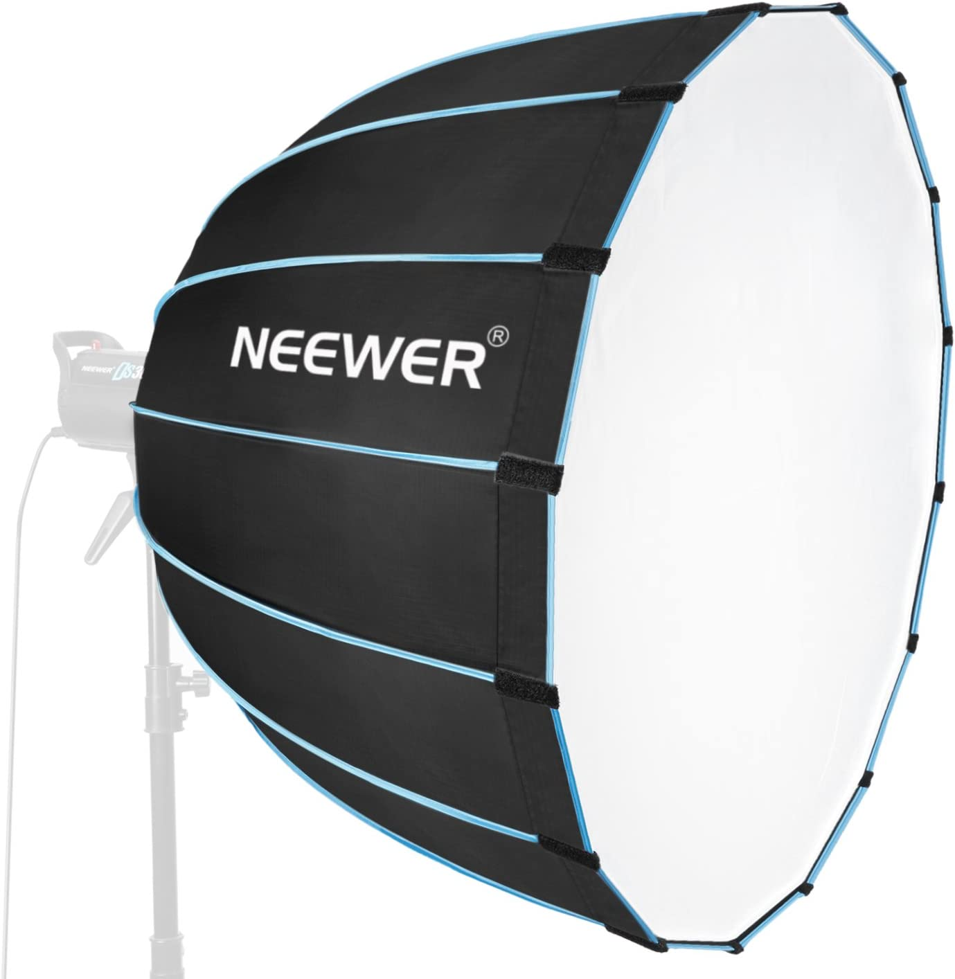 Godox Flashpoint Monolights Such as Neewer,Studio PRO LimoStudio and More Neewer 36 inches//90 centimeters Photography Portable Speedlite Flash Hexadecagon Softbox with Bowens Mount for Speedlites