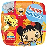 Ni Hao Kai Lan Birthday Supplies Mylar Balloon 18 Inch by Anagram