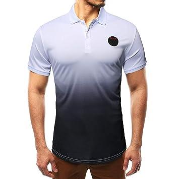 XJWDTX Camisa De Verano De Fondo Delgado para Hombre Moda ...