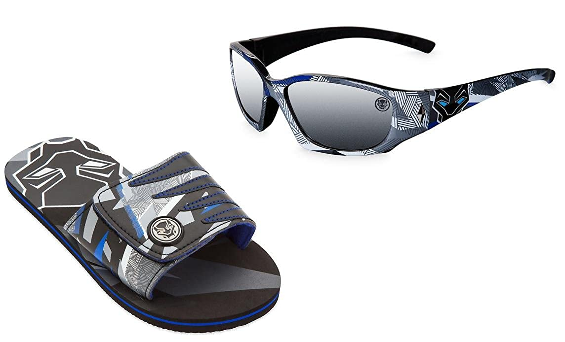 Black Panther Summer Bundle: Boys Sandals and Sunglasses