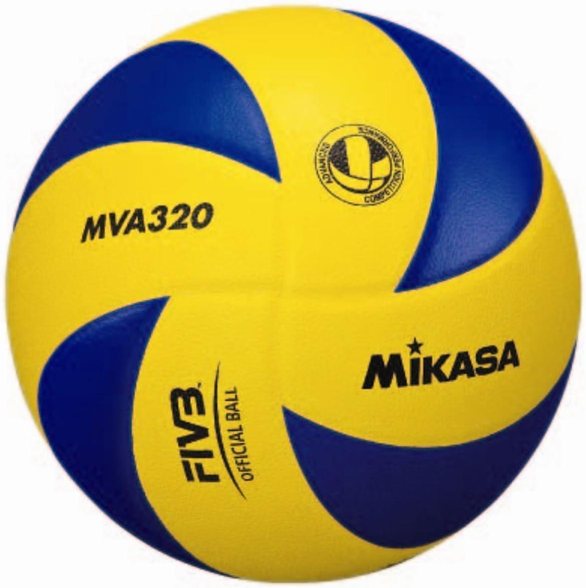 MIKASA MVA 320 - Pelota para Voleibol (Talla 5): Amazon.es ...