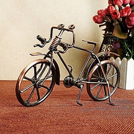 Artes del metal, antiguos modelos de bicicletas / creativo regalos de cumpleaños / decoraciones de hogar / exquisitos regalos / adornos / multiples opciones,D: Amazon.es: Hogar