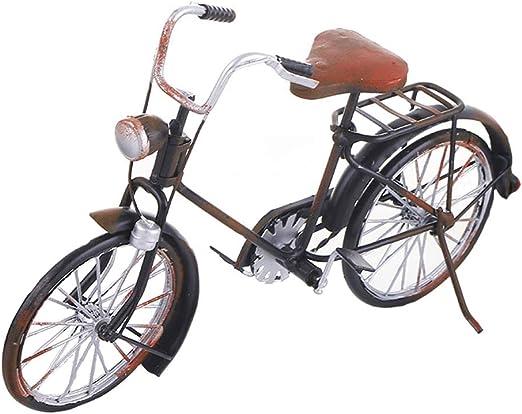 CHENG Creativa Vintage Hierro Arte Retro Bicicleta Modelo casa ...