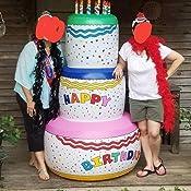 Amazon.com: Fun Express Jumbo Feliz cumpleaños tarta de ...