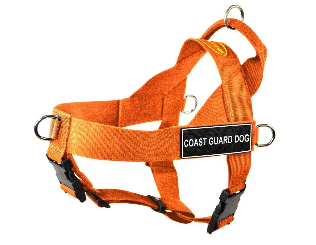 orange Medium orange Medium Dean & Tyler DT Universal No Pull Dog Harness with Coast Guard Dog Patches, Medium, orange