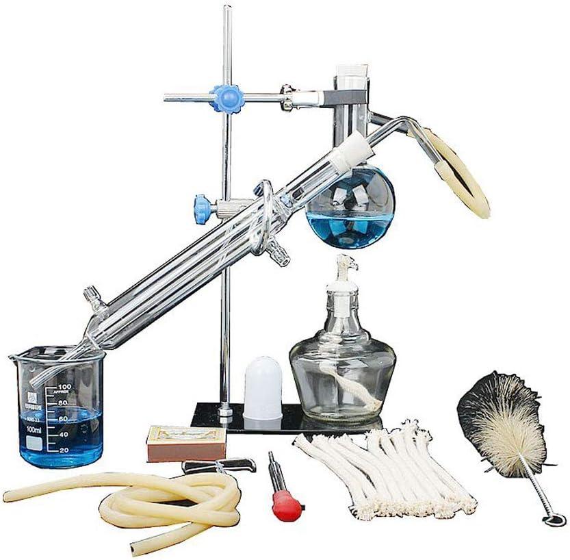 Aparato de Química Equipo De Laboratorio Químico Laboratorio De Laboratorio Alcohol / Aceite Esencial Destilación ...