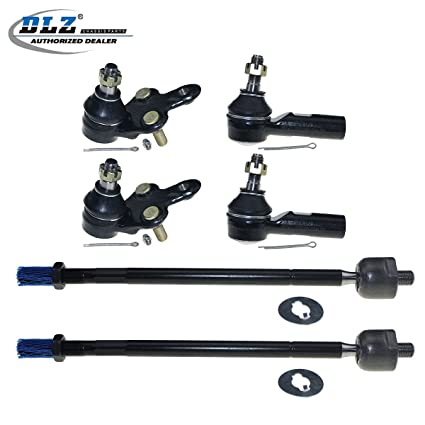 DLZ 4 Pcs Front Suspension Kit-2 Lower 2 Upper Ball Joint Compatible with 1996 1997 1998 1999 2000 2001 2002 Toyota 4Runner 2001 2002 Toyota Sequoia 2000 2001 2002 Toyota Tundra K90255 K90262 K90263