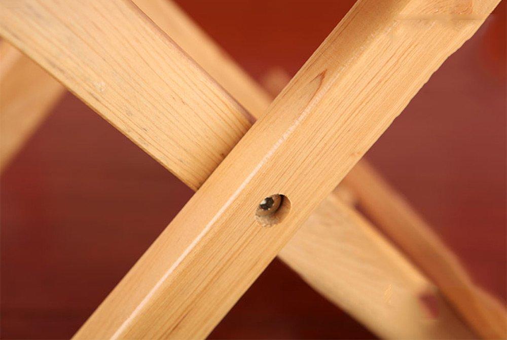 Folding Stool, Folding Small Bench, Solid Wood Stool, Non-plastic Stool, Fishing Stool, Children's Stool by PM-Folding Stools (Image #6)