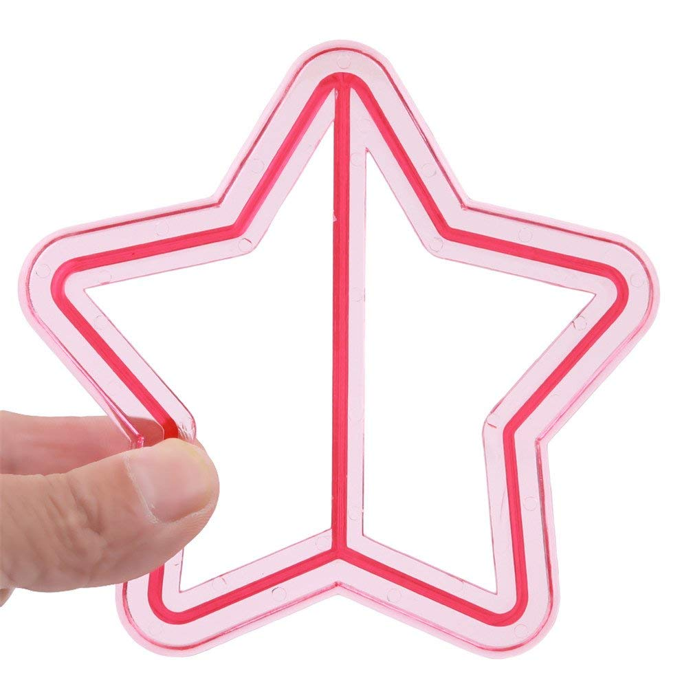 Tcplyn Premium Quality Plastic DIY Sandwich Toast Cookie Cake Bread Biscuit Food Mold Craft Star