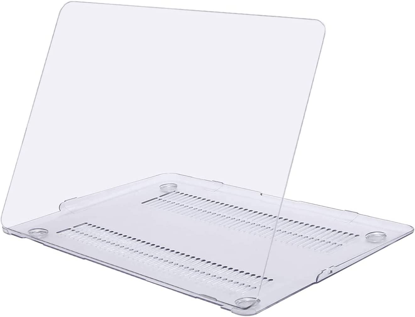 MOSISO MacBook Air 13 inch Case (Models: A1369 & A1466, Older Version 2010-2017 Release), Plastic Hard Shell Case Cover Only Compatible with MacBook Air 13 inch, Crystal Clear