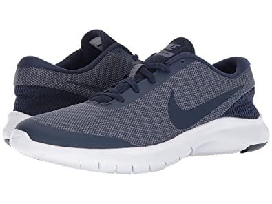dab575b7f216e Nike Women's Flex Experience 7 Running Shoe (8, Midnight Navy/Midnight  Navy-Light Carbon)