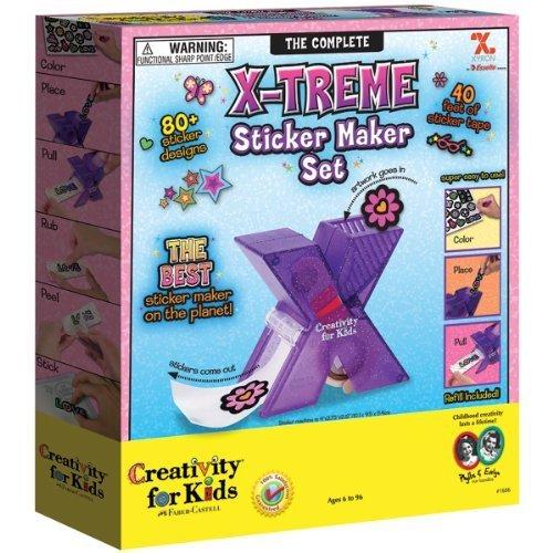 X-Treme Sticker Maker Set- by Creativity for Kids