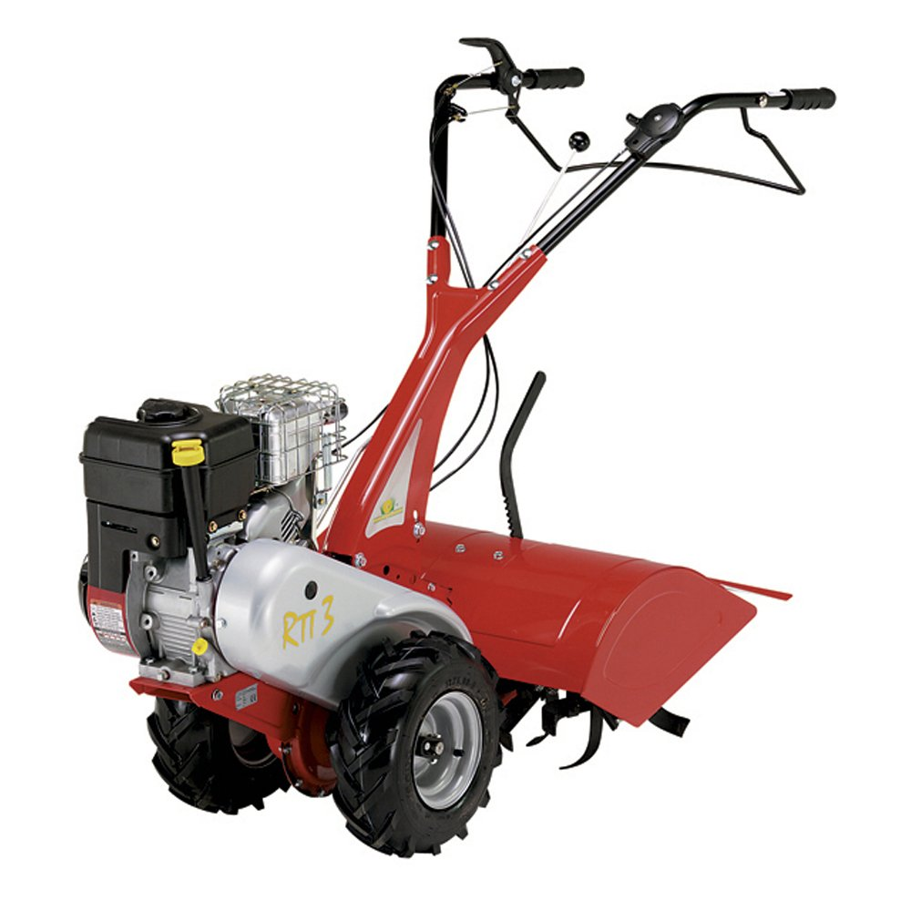 LAZER RTT3-Motocultor con gasolina BéS INTEK OHV-205cc-Ancho: 60 ...