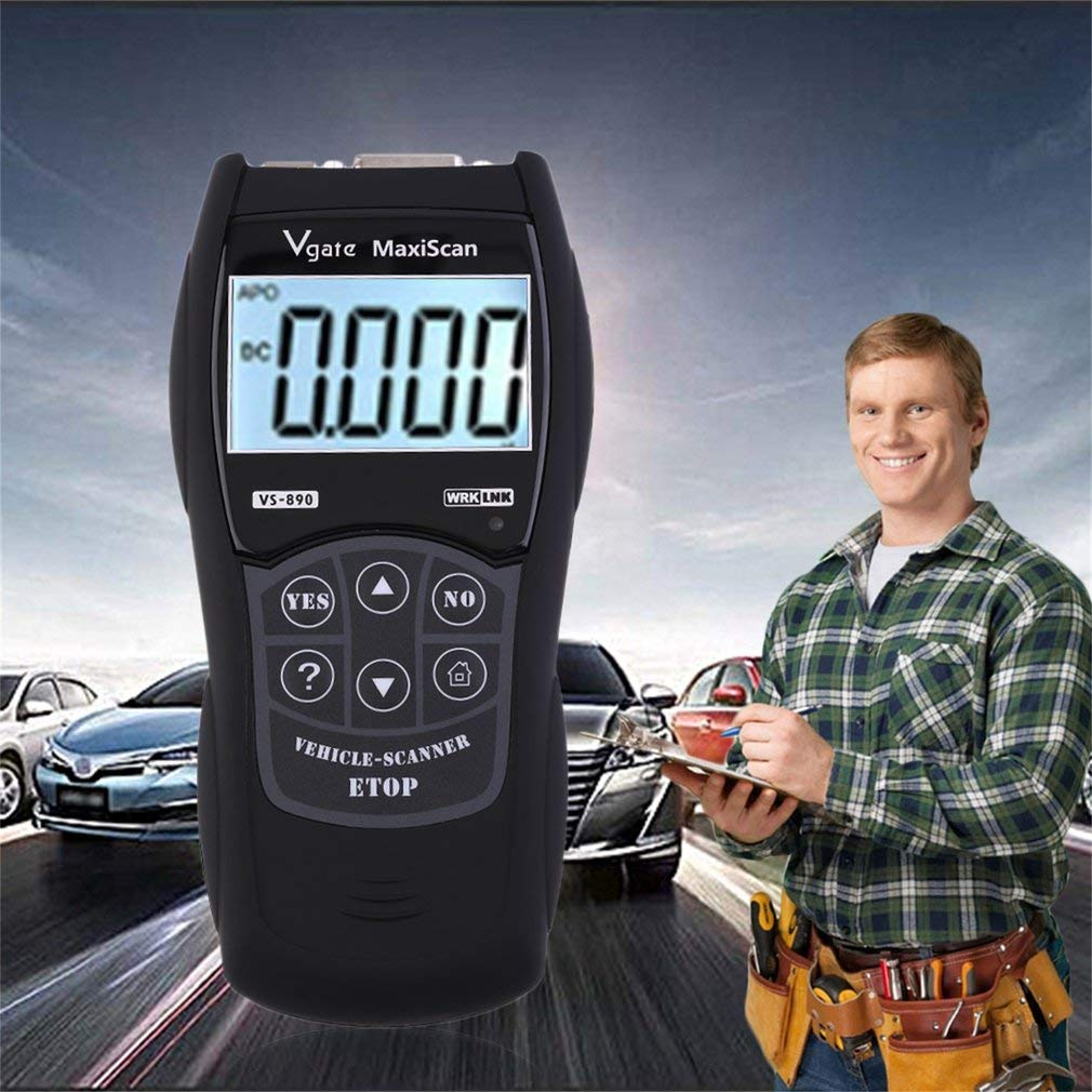 YTYC VS-890 OBDII Code Reader Vehicles Cars Diagnostic Machine Tool Auto Scanner