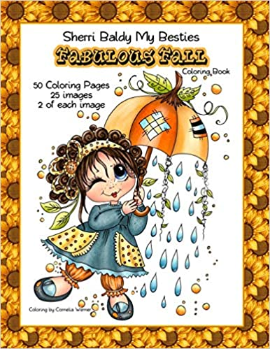 Sherri Baldy My Besties Fabulous Fall Coloring Book