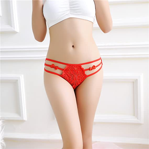 Amazon.com: Sexy Lingerie Women Panty Lace Thong G String Ropa Interior Mujer Bragas: Clothing