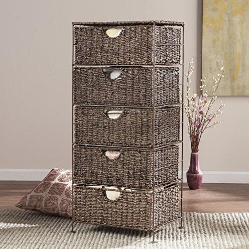 Nancy Seagrass 5-Drawer Storage by FurnitureMaxx