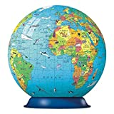 Ravensburger XXL Children's Globe 180 Piece Puzzleball image