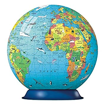 Ravensburger childrens world globe 180pc 3d jigsaw puzzle ravensburger childrens world globe 180pc 3d jigsaw puzzle gumiabroncs Choice Image