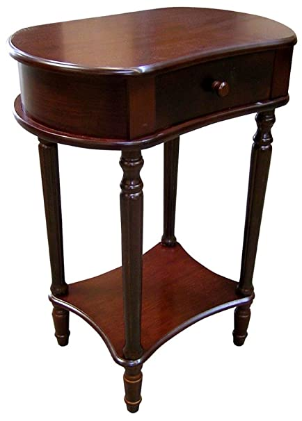 Delicieux Wide Side Table   Cherry (29) H 114A