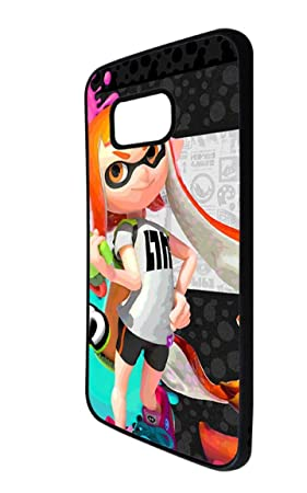 Coque Pour Galaxy S6 Edge Splatoon Girl Dessin Annime