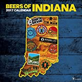2017 Beer Labels of Indiana Wall Calendar