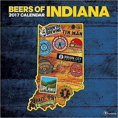 2017 Beer Labels of Indiana Wall Calendar
